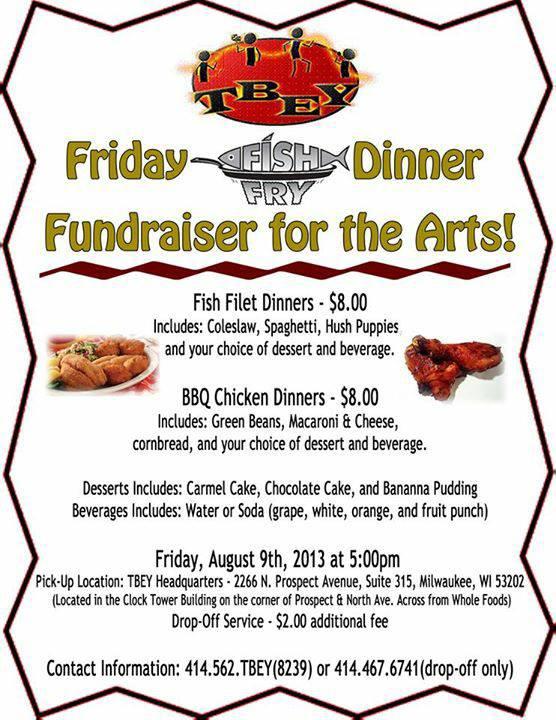 fish fry fundraiser flyer